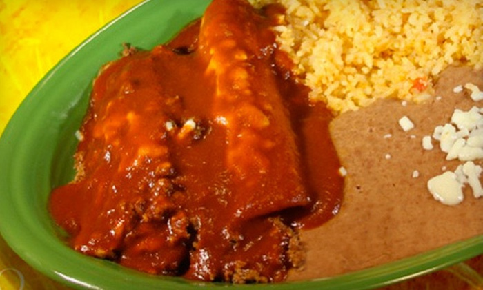 null - South Side: Mexican Cuisine for Two or Four at El Patron (Half Off)