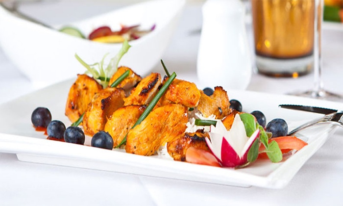 Nasha Lounge and Bar - Chandler: Modern Indian Dinner for Two or Four at Nasha Lounge and Bar (50% Off)