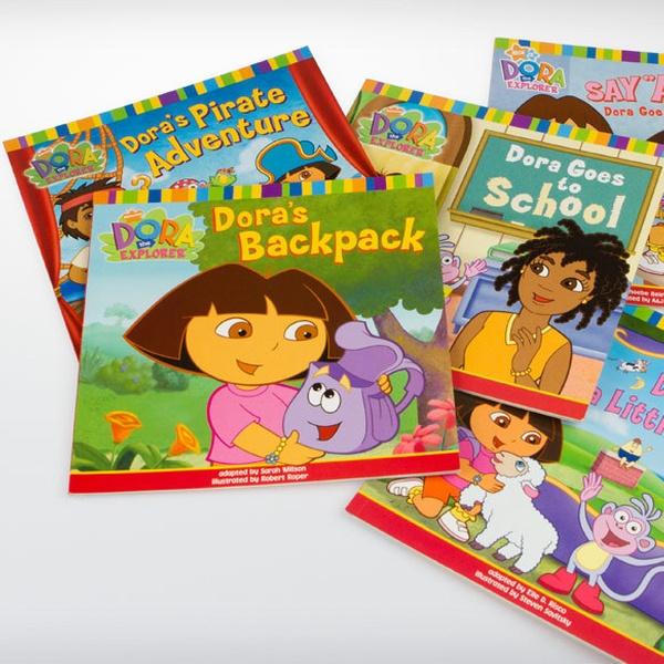 """""""Dora the Explorer"""" 15-Book Collection."""
