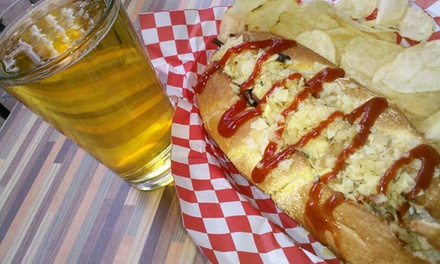 $16 for Two Drinks and Two Entrees at Wild Dawgs ($23.90 Value)