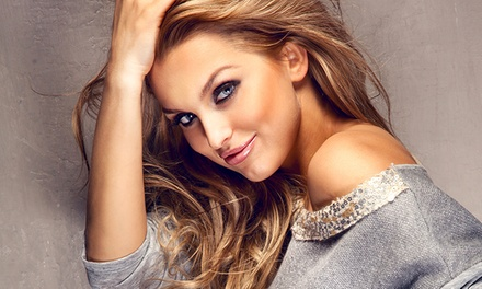 Haircut with Full Color or Highlights from Jenna, Model Call Stylists (Up to 61% Off)