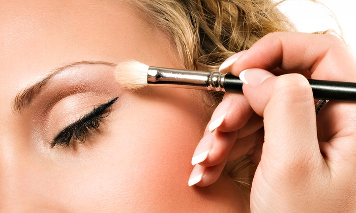 The Porcelain Doll Boutique - Colleyville: Traditional or Airbrush Makeup at The Porcelain Doll Boutique (Up to 76% Off). Three Options Available.