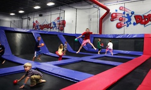 Jump America: 24 hour Advanced Purchase provides Two-Hour Admission for Two or Four at Jump America (Up to 48% Off)