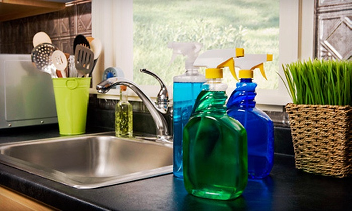 EnviroClean - Medford Street - The Neck: Two or Three Man Hours of Green Housecleaning from EnviroClean (Up to 59% Off)