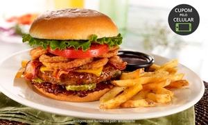 O Holanddês Hamburgueria: Hambúrguer + porção de batata ou cebola n'O Holanddês – Jabaquara