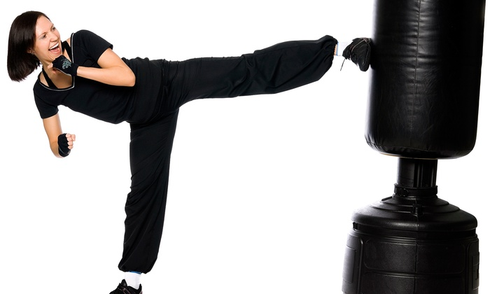 TryKickboxingNow.com - Northeast Cobb: 5 or 10 Kickboxing Classes from TryKickboxingNow.com (Up to 88% Off)