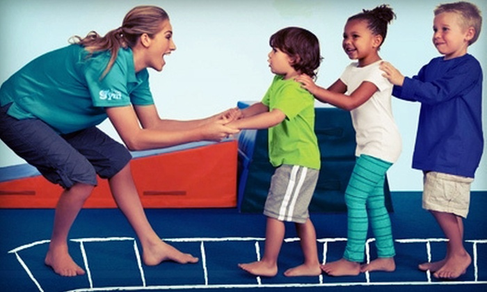 The Little Gym - North Fresno: $45 for an Annual Family Membership and Three Children's Classes at The Little Gym ($95 Value)