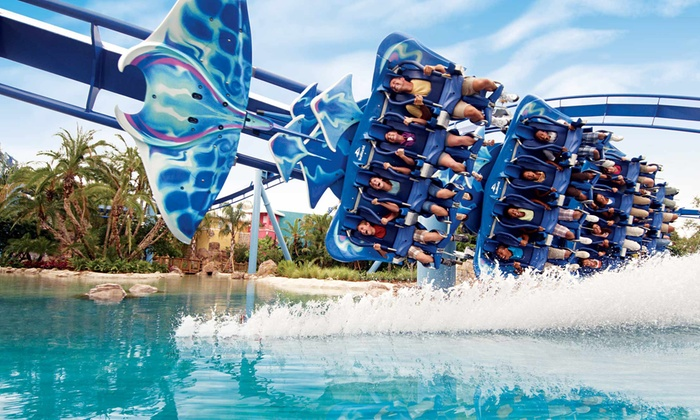 Seaworld Orlando And Busch Gardens Tampa Multiple Locations 2017 Fun Card For Unlimited Admission