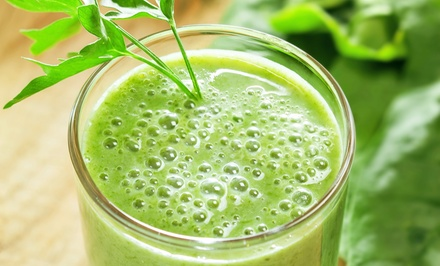 $10 for Four Groupons, Each Good for $5 Worth of Juice, Smoothies, and Salads at Red Apples Juice Bar ($20 Value)