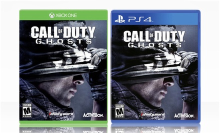 Call of Duty: Ghosts for PlayStation 4 or Xbox One. Free Returns.