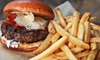 Rockit Burger Bar - Lakeview: $24 for Burgers and Whiskey Flights for Two at Rockit Burger Bar (Up to $48 Value)