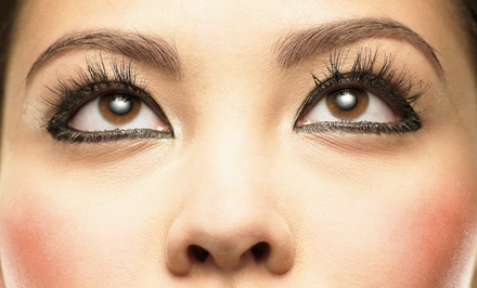 Basic or Deluxe Set of Lash Extensions at Michael D Anthony's Salon (Up to 59% Off)