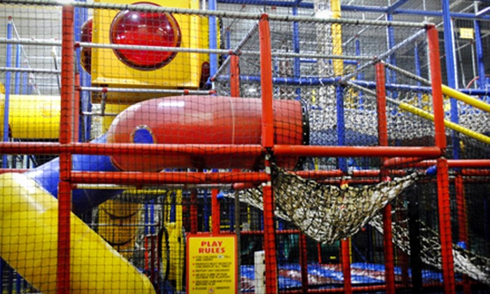 Kid's Place Adventure Playground - Fayette Mall: 5- or 10-Visit Punch Card at Kid's Place Adventure Playground (Up to 57% Off)