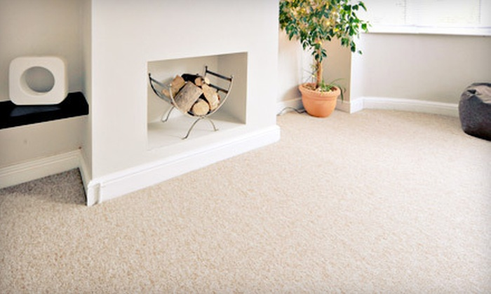 JJ Carpet Cleaning Services - Near North Side: Cleaning of Sofa and Chair or Carpet Cleaning in Three Rooms from JJ Carpet Cleaning Services (Up to 67% Off)