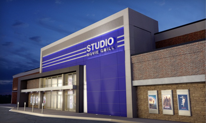 Studio Movie Grill - Wheaton: $5 for a Movie Outing with a Ticket at Studio Movie Grill (Up to $10.25 Value)