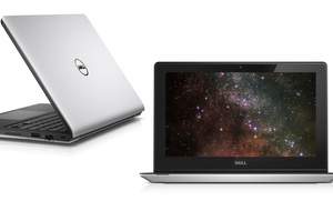 """Dell Inspiron 11.6"""" Touchscreen Hd Laptop With Amd Quad-core Processor, 4gb Ram, And 500gb Hard Drive"""