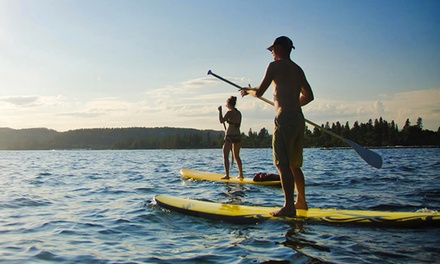 $49 for a Two-Hour Standup-Paddleboard Lesson and a Two-Hour Rental ($104 Value)