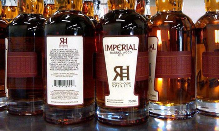 Roundhouse Spirits - Vapor Distillery: $20 Worth of Artisan Spirits