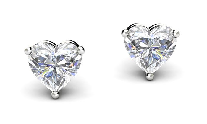 swarovski earrings groupon goods