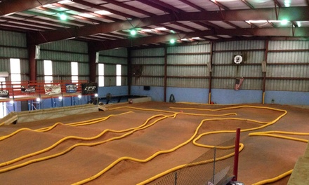 Open-Practice RC Car Track Time or One-Hour RC Car Rental for One or Two at Space Coast R/C (60% Off)
