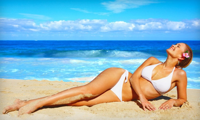 Tiki Tanning - Multiple Locations: One or Three Months of Unlimited UV Tanning or $15 for $35 Worth of UV Tanning Packages and Products at Tiki Tanning