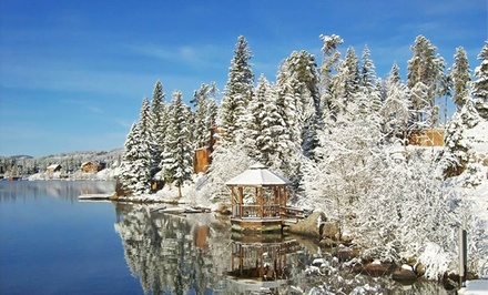 1-, 2-, or 3-Night Stay for Up to Four at Western Riviera Courtyard Cabins in Grand Lake, CO