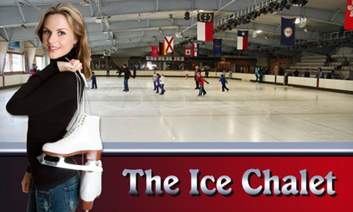 Ice Chalet - Knoxville: Two or Four Public Ice-Skating Sessions with Skate Rental at Ice Chalet (Up to 53% Off)