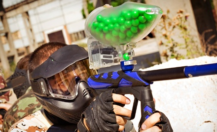 Full-Day Entry for Two, Four, or Six to Gladiator Paintball Park (Up to 53% Off)