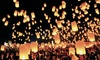 Chinese Sky Lanterns: Lanterns, Balloons, and Decor at Chinese Sky Lanterns (Up to 61% Off). Three Options Available.