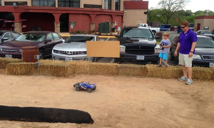 RC Car-Racing Session for One or Two at Austin Food Park (Up to 53% Off)