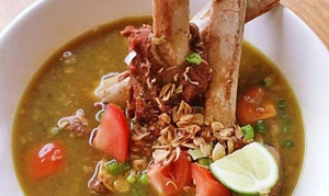 Padi Restaurant & Catering: $10 for $20 Worth of Indonesian Cuisine at Padi Restaurant & Catering