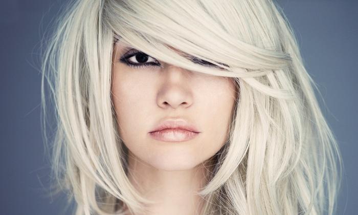 Crazy Beautiful Hairstyles by Mariah B. at Hot Choppers Salon - Hot Choppers Salon: Haircut with Optional Highlights from Crazy Beautiful Hairstyles by Mariah B. at Hot Choppers Salon (Up to 78% Off)