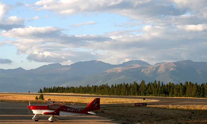 Aspen Flying Club - Cenntennial: $299 for Flight Package with Discovery Flight and Aviation 101 at Aspen Flying Club ($599 Value)