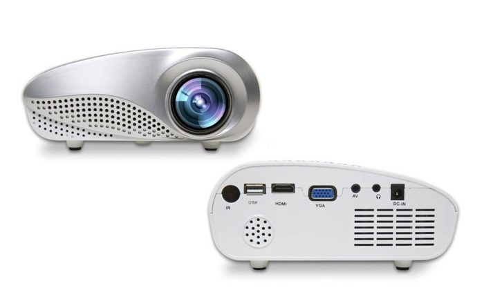 Portable mini projector groupon goods for Pocket projector deals