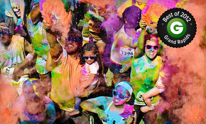 Color Me Rad - Walker: $20 for Entry to the Color Me Rad 5K Run at Millennium Park on Saturday, May 25 (Up to $40 Value)