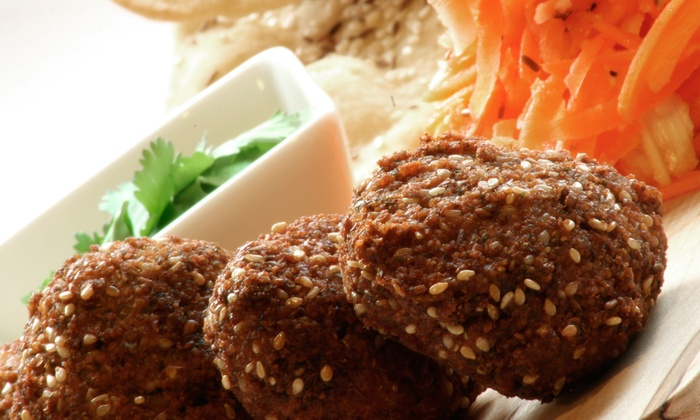 Laffa - Back Bay: $24 for Falafel, Drink, and 12-Ounce Froyo Cup at Laffa ($44.30 Value)
