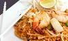 Thai Siam Restaurant - Multiple Locations: $10 for $20 Worth of Thai Food at Thai Siam Restaurant