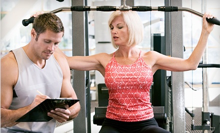 $175 for $350 Worth of Personal Training at Max Fitness