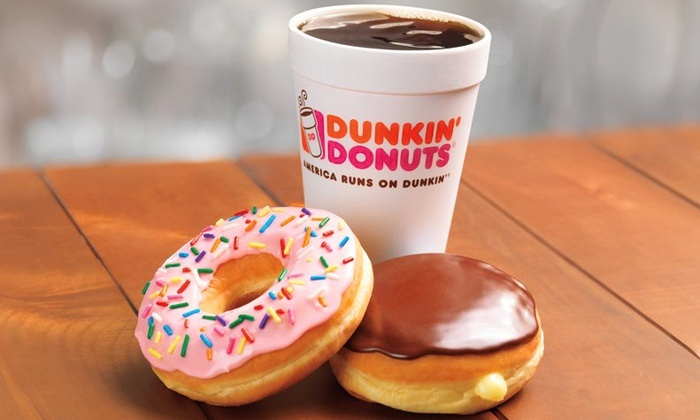 Dunkin Donuts - Terrytown: Five-Punch Card for a Breakfast Combo at Dunkin Donuts (51% Off). Two Options Available.