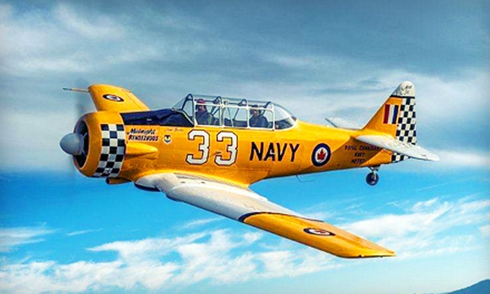 Sky Combat Ace in Las Vegas - Los Angeles: $249 for an Aerobatic Warbird- or Afterburner-Flight Experience and Flight Museum Entry at Sky Combat Ace in Henderson (Up to Half Off)
