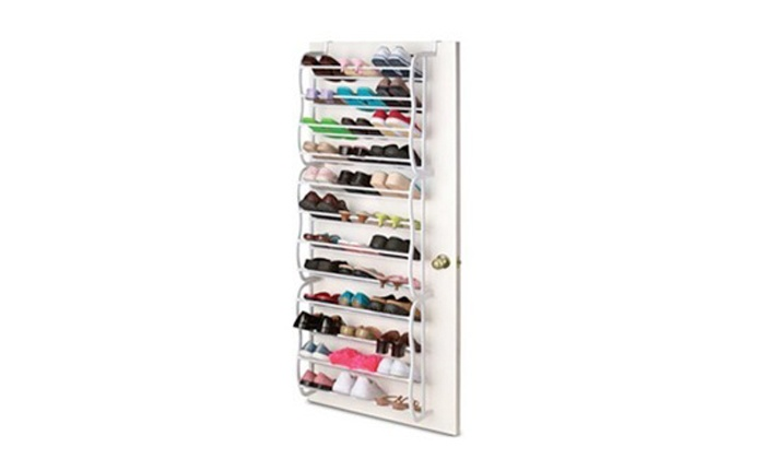 Groupon Goods: 36-Pair Over Door Shoe Rack for R399.99 Including Delivery (56% Off)