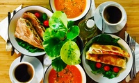 Soup, Sandwich and Hot Drink for Two at The Early Bird Coffee and Tea House (42% Off)