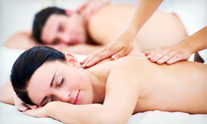The Pink Nail & Spa - Multiple Locations: $69 for a 50-Minute Couples Massage at The Pink Nail Spa ($150 Value)