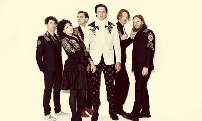 Arcade Fire: Reflektor Tour - Cynthia Woods Mitchell Pavilion: $22 to See Arcade Fire: Reflektor Tour at Cynthia Woods Mitchell Pavilion on April 9 at 7:30 p.m. (Up to $43.70 Value)
