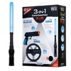 Nintendo Wii 3-in-1 Controller Accessory Kit