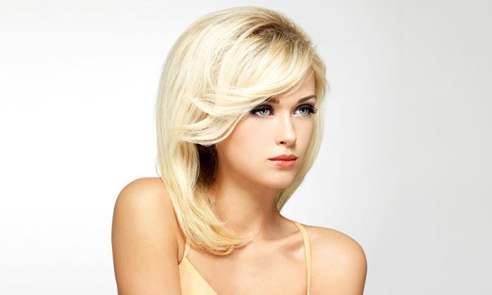 La lolita coiffure d s 19 li vin groupon - Shampoing coupe brushing ...