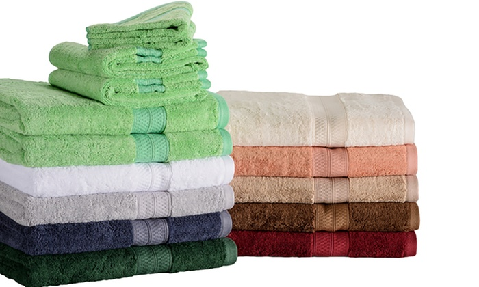 77bae6684472 Up To 40% Off on Durable Towel Set (2- or 6-Pc.)