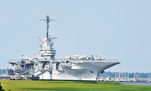 Patriot's Point - USS Yorktown: $20 for a _USS Yorktown_ Visit for Two at Patriots Point Naval & Maritime Museum ($40 Value)