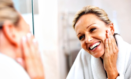 Three or Five 75-Minute Antioxidant Aging-Repair Treatments at Glowing Day Spa (Up to 58% Off)