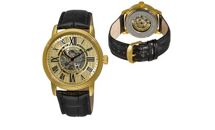 Stuhrling Men's Skeleton Automatic Watch